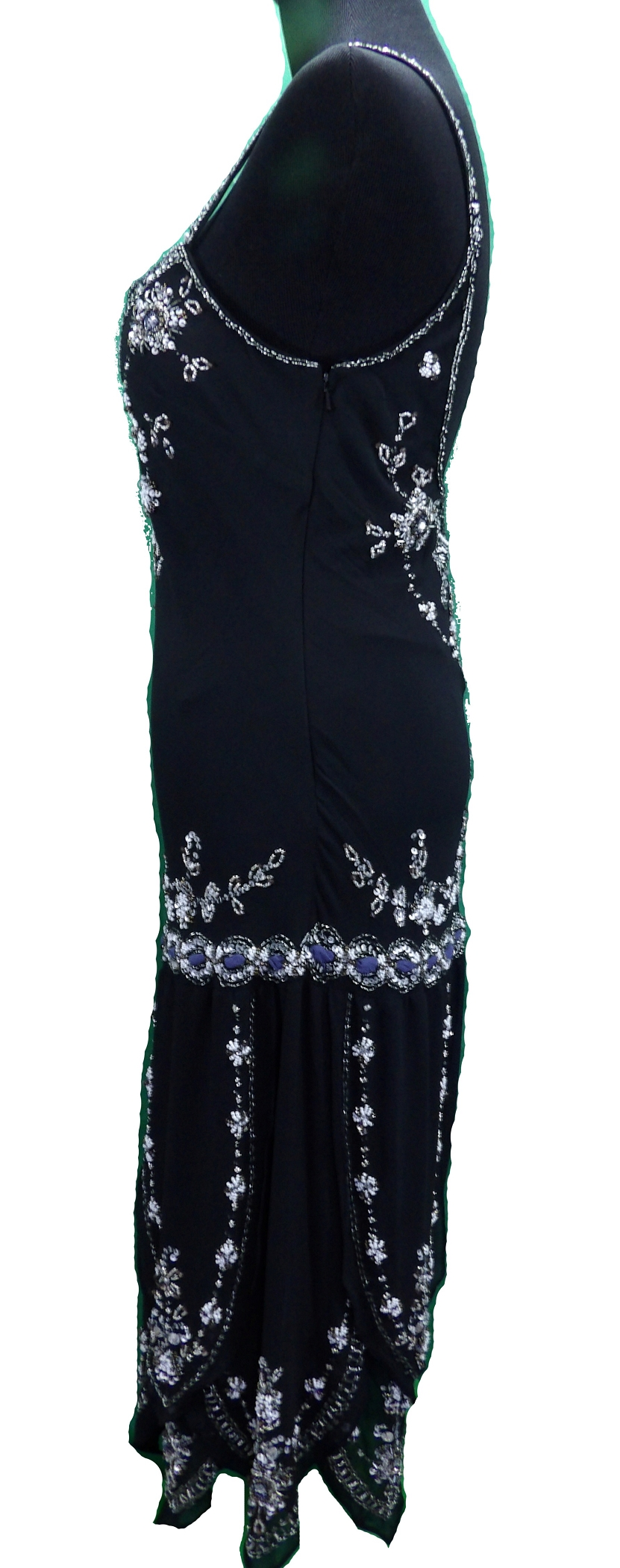 1920s style vintage look flapper sequin deco gatsby charleston dress hairstyles