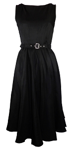 (XS-XXL) Dance Night Audrey Dress - BLACK <br><br> Classy 40s 50s vintage inspired frock